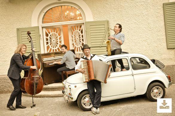 Pressefoto Quadro Nuevo Programm ''Ragazzo Music''