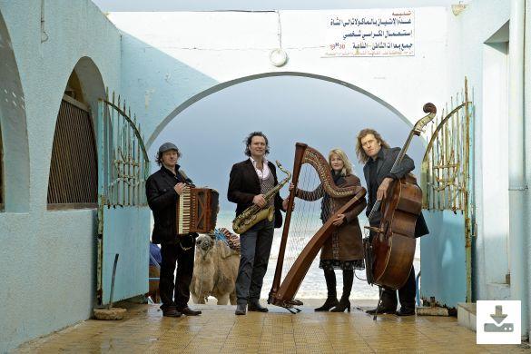 """Press Picture Quadro Nuevo Ensemble """"Quadro Nuevo''"""