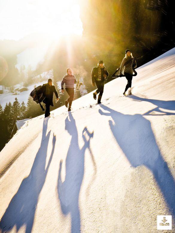 Pressefoto Quadro Nuevo Programm ''Das Weihnachtskonzert''