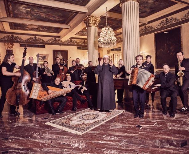 """Pressefoto Quadro Nuevo  """"Flying Carpet: Quadro Nuevo meets Cairo Steps"""""""