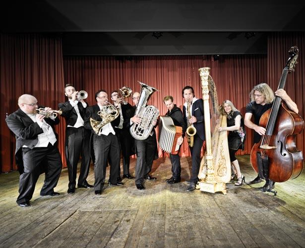 "Pressefoto Quadro Nuevo  ""Quadro Nuevo & Harmonic Brass: Concerto Grande''"