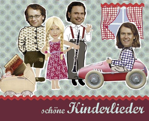 Pressefoto Quadro Nuevo  ''Schöne Kinderlieder''
