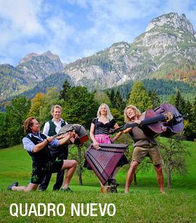 Hörbuch Quadro Nuevo Alpensagen