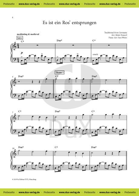 Piano Book Christmas Nights