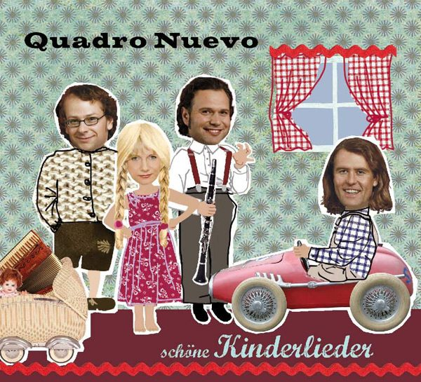 CD Quadro Nuevo Schöne Kinderlieder