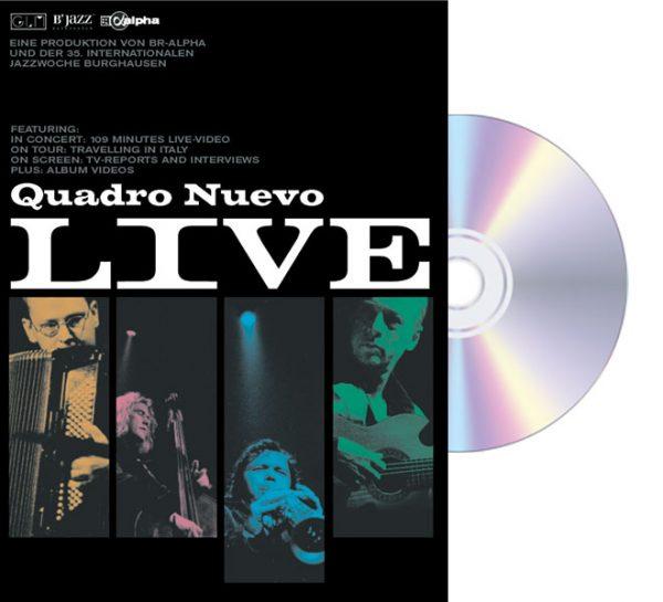 DVD Quadro Nuevo LIVE