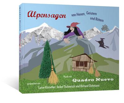 Hörbuch Quadro Nuevo Alpensagen 2
