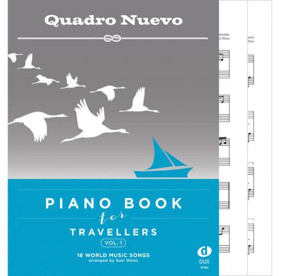 Quadro Nuevo Piano Book for Travellers Vol. 1