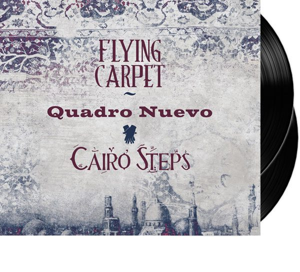 Doppel-LP Quadro Nuevo Flying Carpets