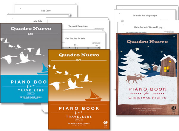 Piano Books for Travellers + Christmas Nights