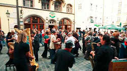 Quadro Nuevo – TANGO Flashmob in München